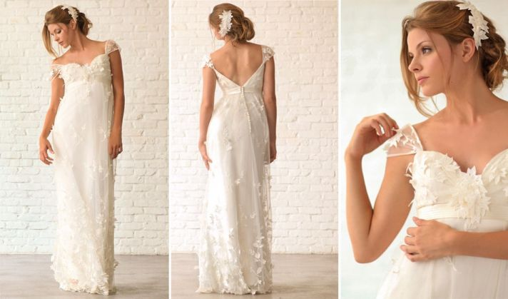 lace wedding dress romantic alice padrul 2