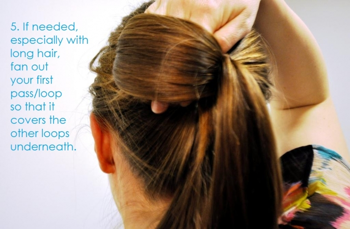 DIY wedding hair ideas bridal updo bow bun 6
