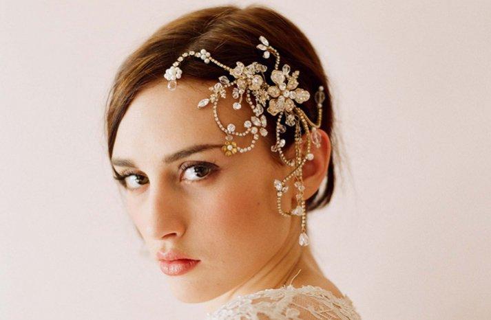 ornate wedding hair accessory twigs n honey
