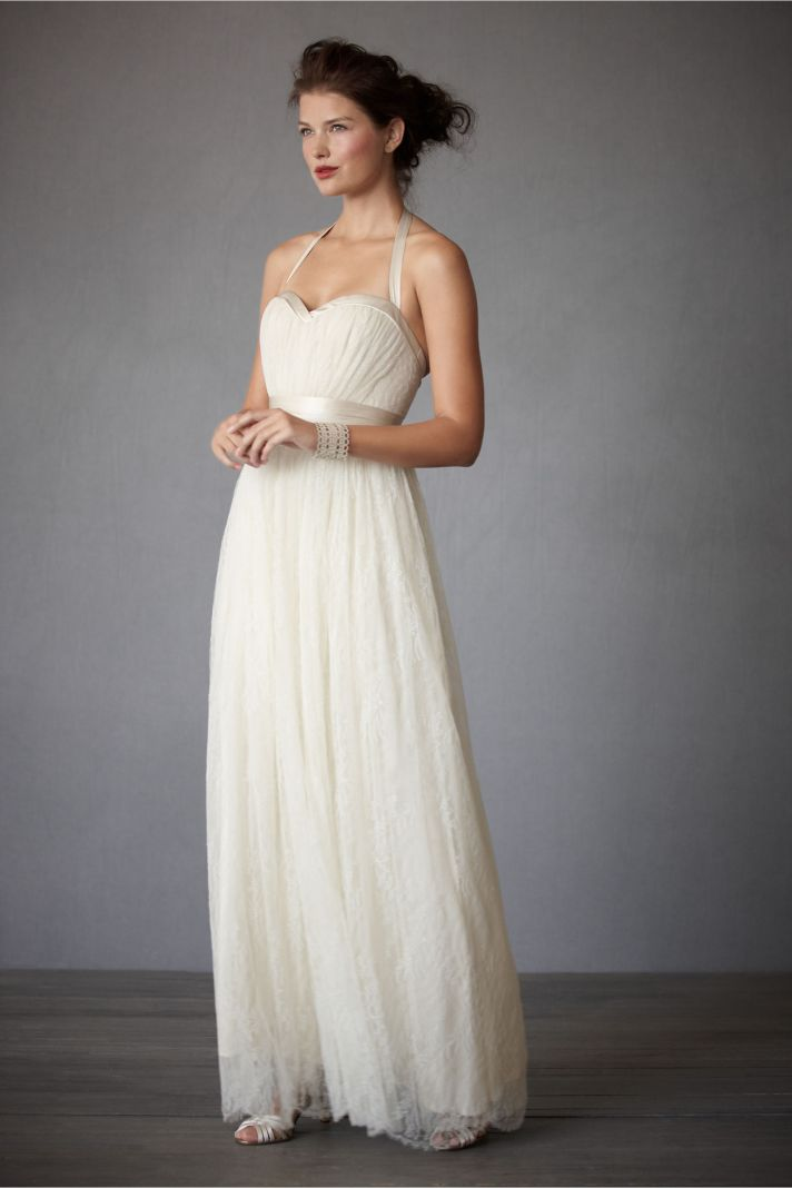 halter wedding dress ivory 2012 bhldn bridal gowns