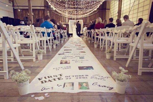 Diy Wedding Ceremony Aisle Runner