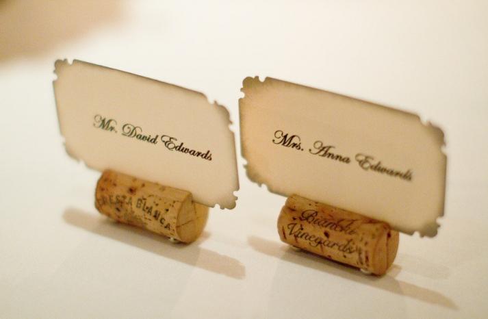 romantic winery wedding outdoor wedding venues escort cards