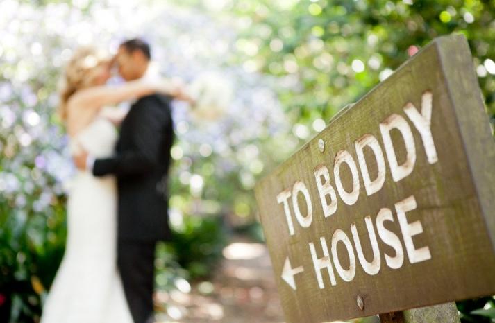 romantic winery wedding outdoor wedding venues bride groom embrace