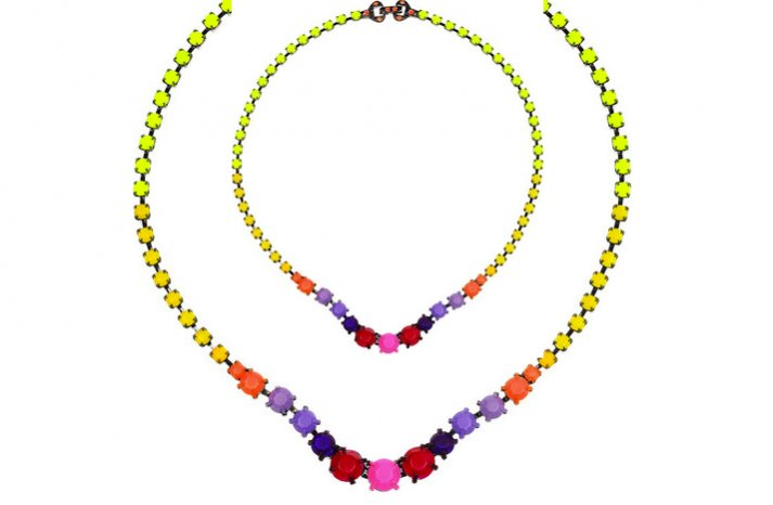 Bright-neon-wedding-necklace-2012-bridal-trends