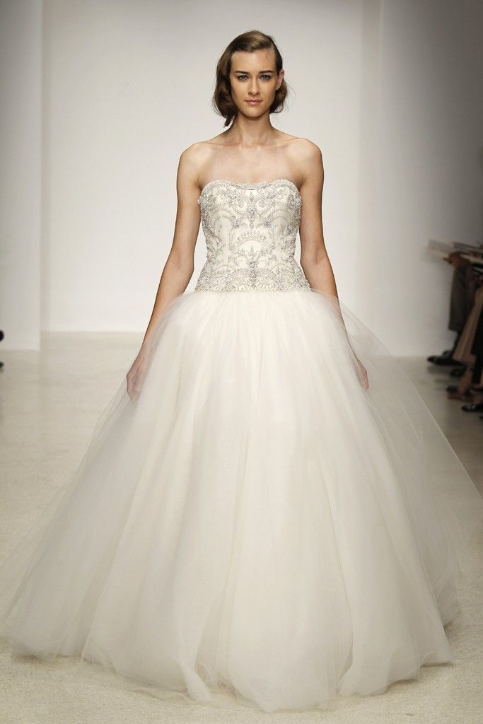 Spring 2013 wedding dress by Kenneth Pool bridal gowns 8