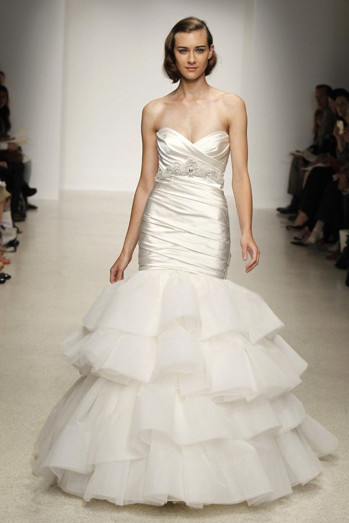 Spring 2013 wedding dress by Kenneth Pool bridal gowns 3