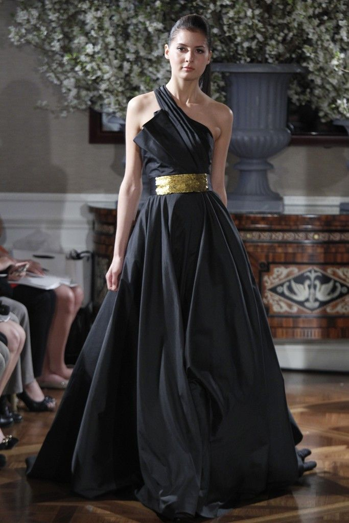 Spring 2013 wedding dress collections Romona Keveza bridal gown black 2