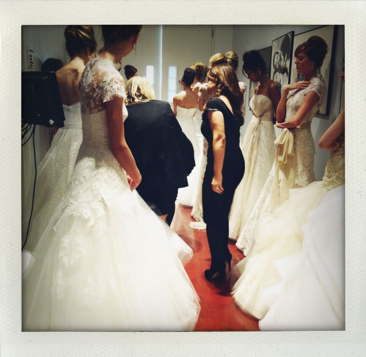 spring 2013 wedding dress bridal market runway 3