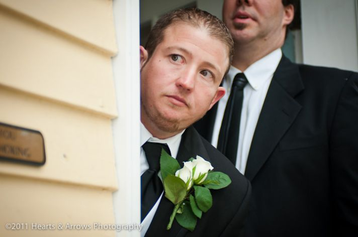 groom scared of bridal shows