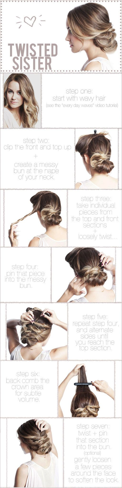 three fav pre wedding DIY bridal hairstyles how to tutorials for brides 3