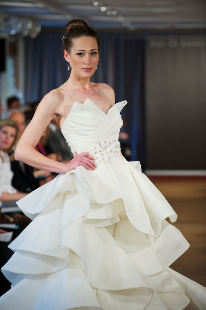 wedding dress spring 2013 bridal gowns Ines di Santo 9