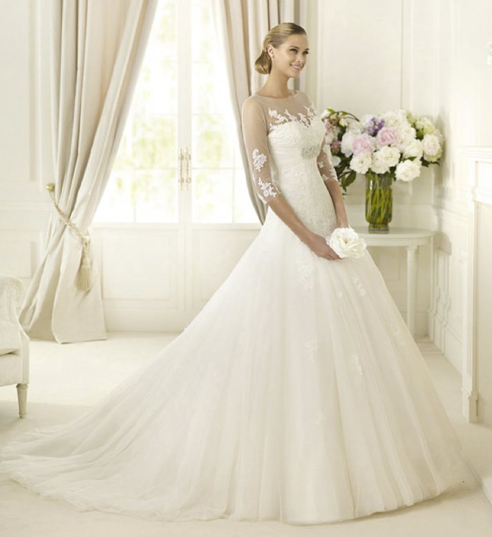 2013 wedding dress Pronovias Glamour collection bridal gowns Daifa