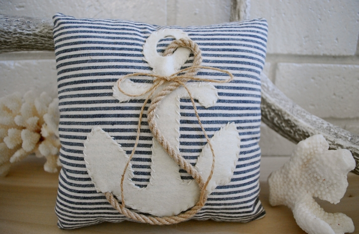 ring bearer pillow etsy weddings nautical