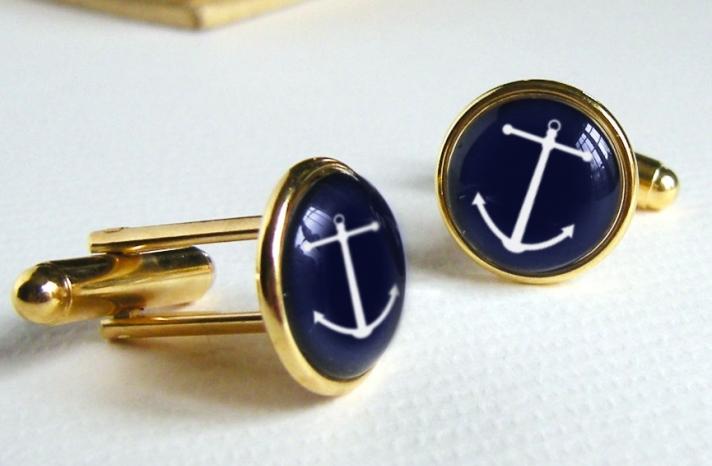 nautical wedding cufflinks