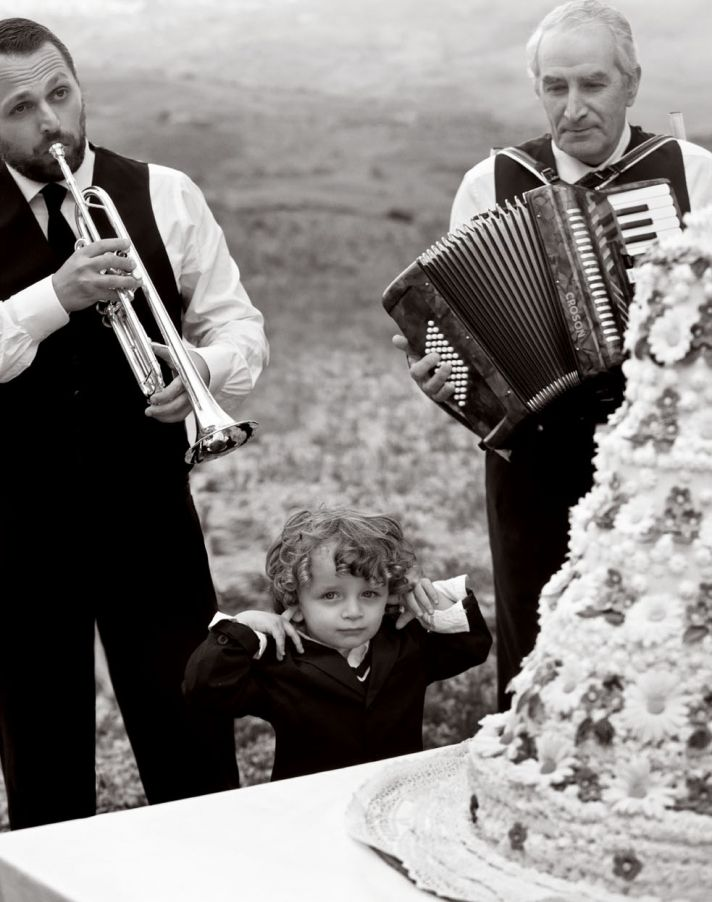adorable ring bearer italian wedding