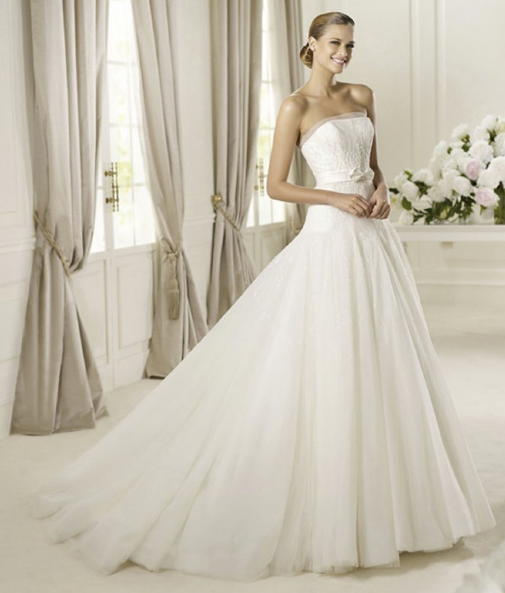 2013 wedding dress Pronovias bridal gowns fashion collection Dulce