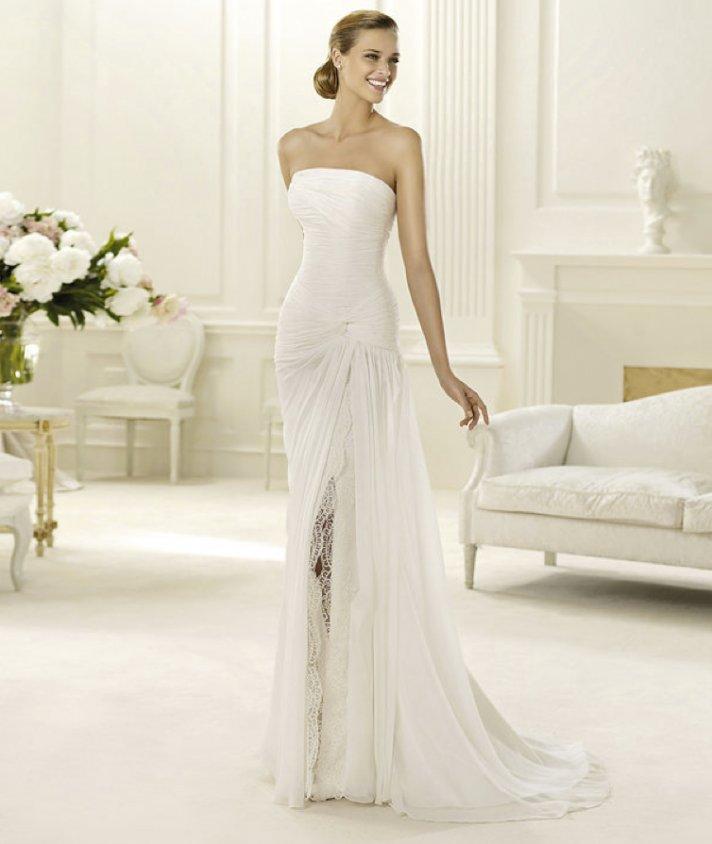 2013 wedding dress Pronovias bridal gowns fashion collection Dahir