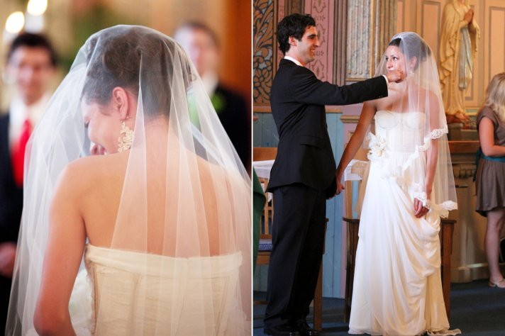 wedding accessories trends drop bridal veils