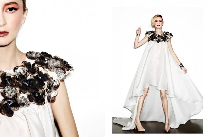 daring new wedding dress designer Houghton NYC bridal gowns 11