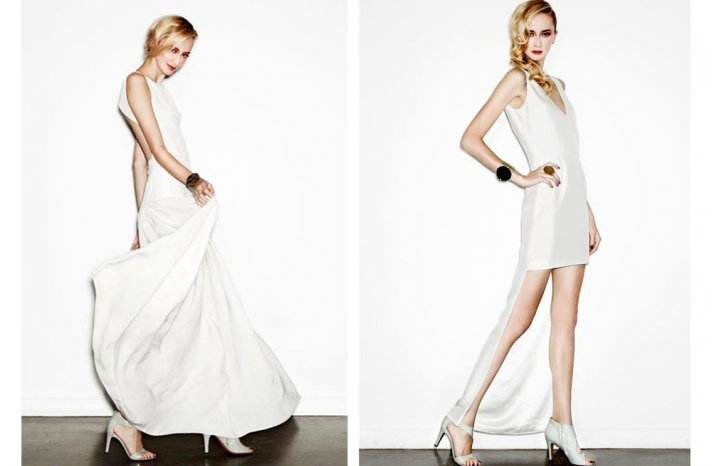 new bridal designer edgy wedding dresses by HOUGHTON 1