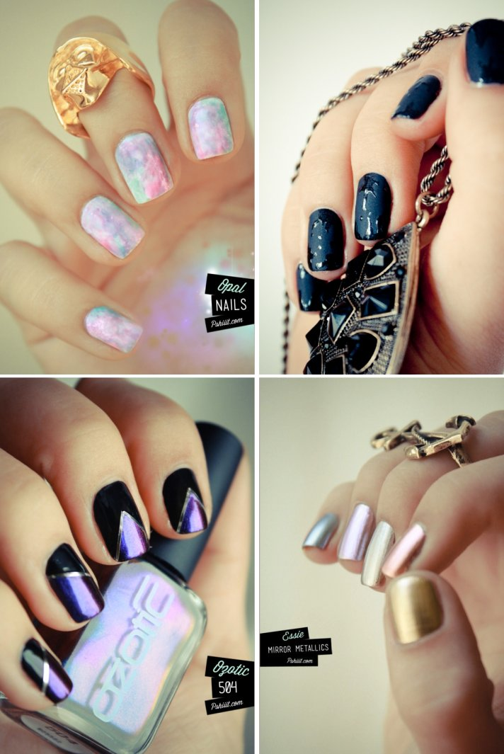 Pretty Up Your Wedding Day Nails