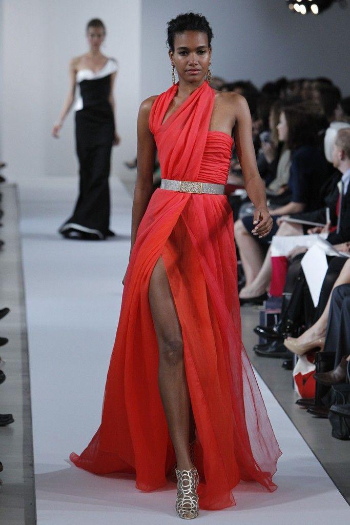 Red Black Wedding Dress 36 Popular Oscar de la Renta