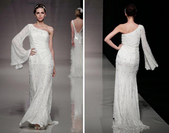 2013 wedding dresses bridal gown inspiration white gallery london asymmetrical neckline