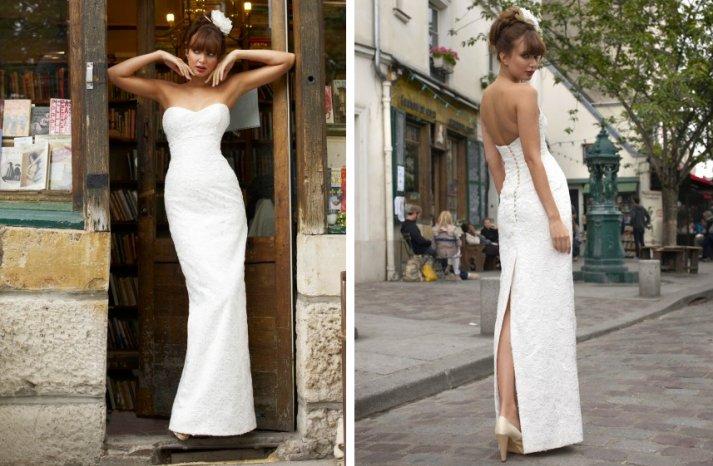 vintage inspired wedding dress stephanie allin romantic lace column sweetheart neckline
