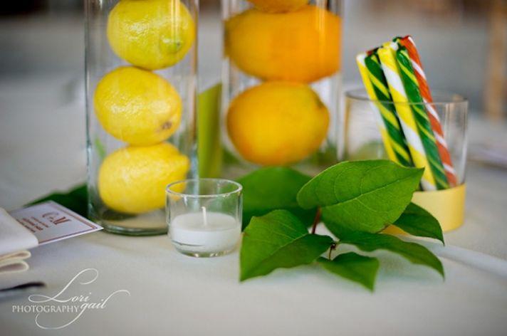 edible arrangements creative wedding centerpieces citrus lemon orange