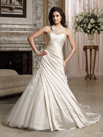 discontinued wedding dress