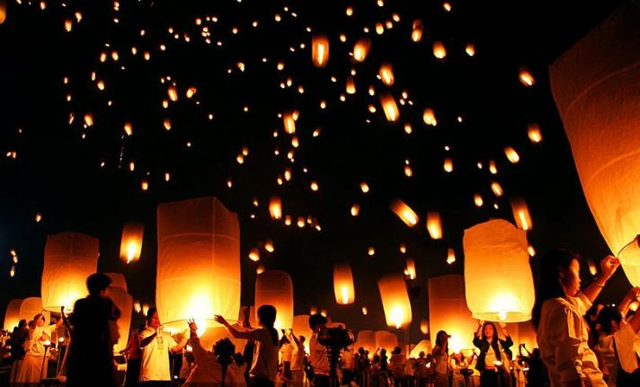 wedding wish lanterns for reception
