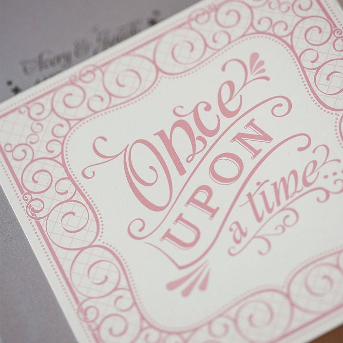 Storybook Wedding Invitation