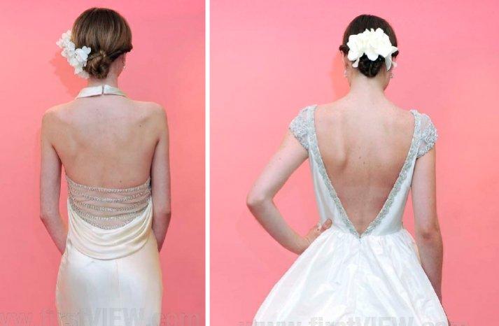 badgley mischka bride 2013 wedding dress statement back bridal gowns 2