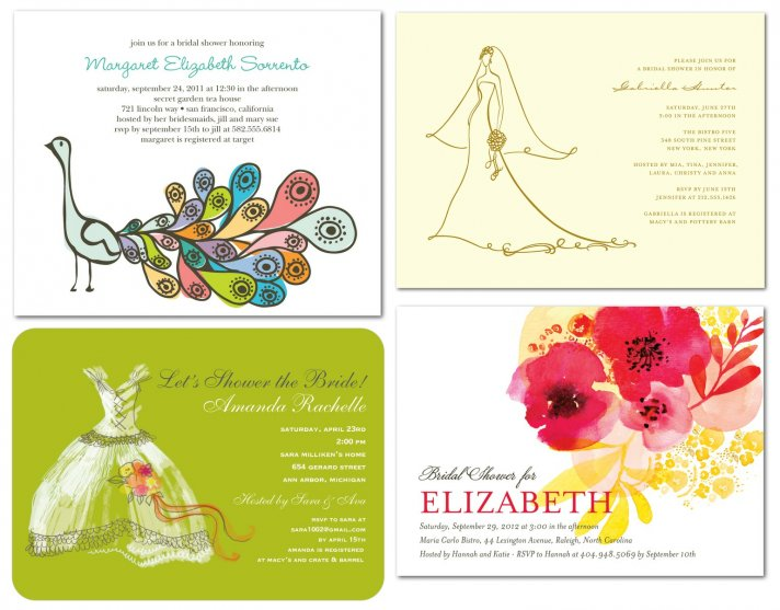 bridal shower invitations for every occasion