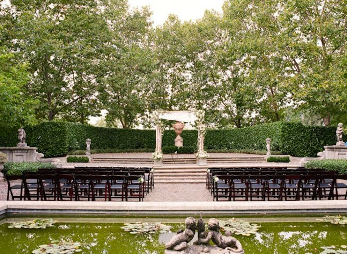 outdoor wedding ceremony seating ideas