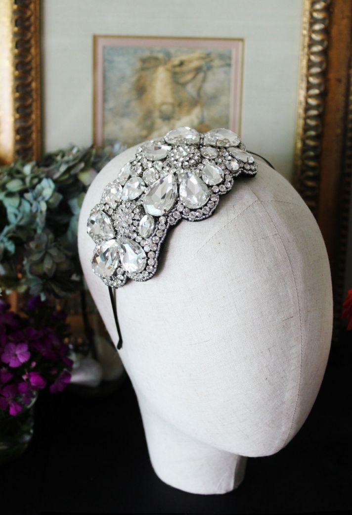 downton abbey wedding inspiration vintage weddings bridal headpiece