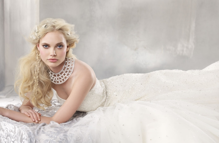 fall 2012 wedding dress alvina valenta bridal gowns 9259