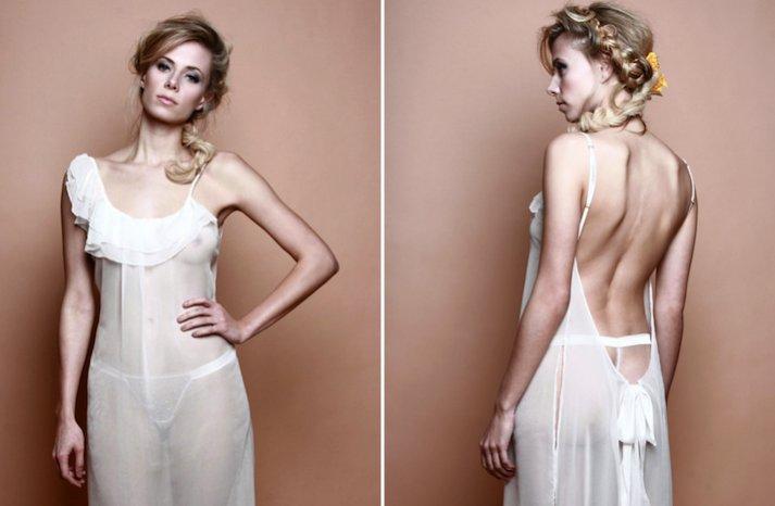 bridal lingerie from Etsy wedding night romance 1