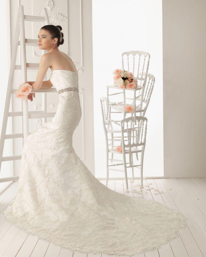 2013 wedding dress Aire Barcelona bridal gowns Rhin
