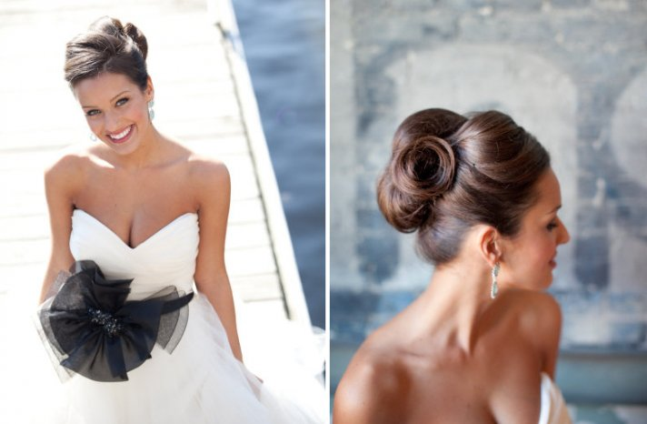 wedding updos we love summer 2012 twisted high updo