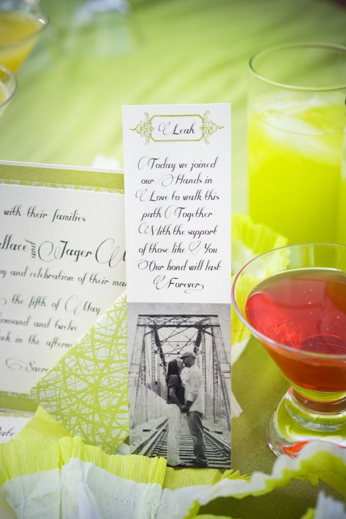 whimsical garden wedding bright signature drinks