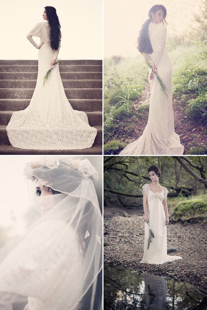 romantic wedding inspiration vintage inspired bridal style 3