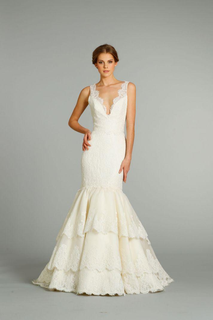 fall 2012 wedding dress Jim Hjelm bridal gowns 8259