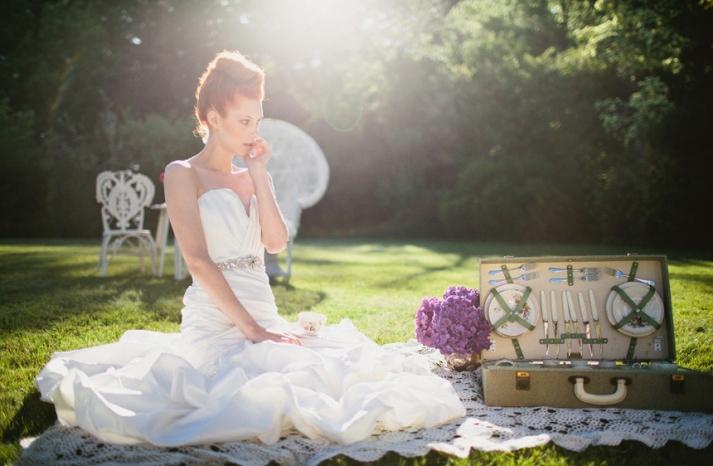 romantic wedding hair makeup inspiration 8