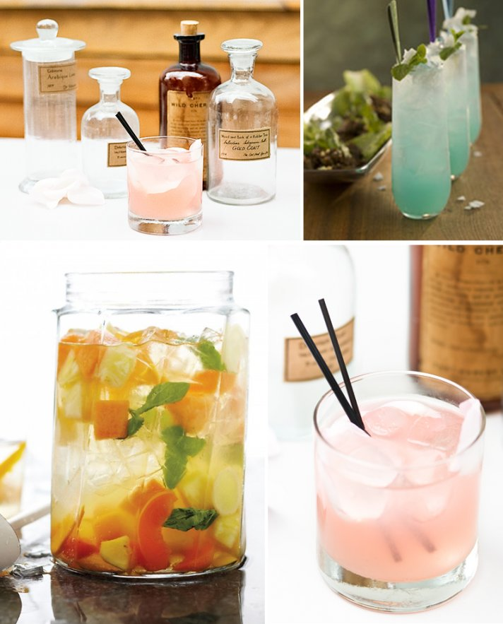 5 signature wedding cocktails for summer I Dos