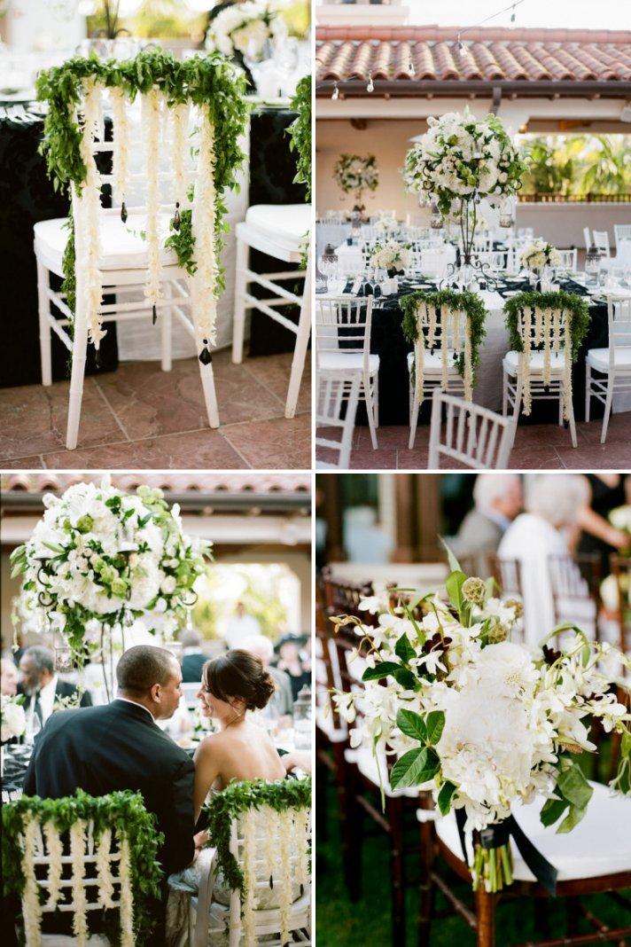 pretty wedding chairs creative ceremony reception decor inspiration 1