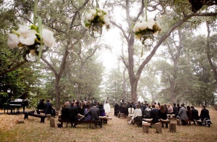 priceless wedding photos romantic outdoor wedding vows
