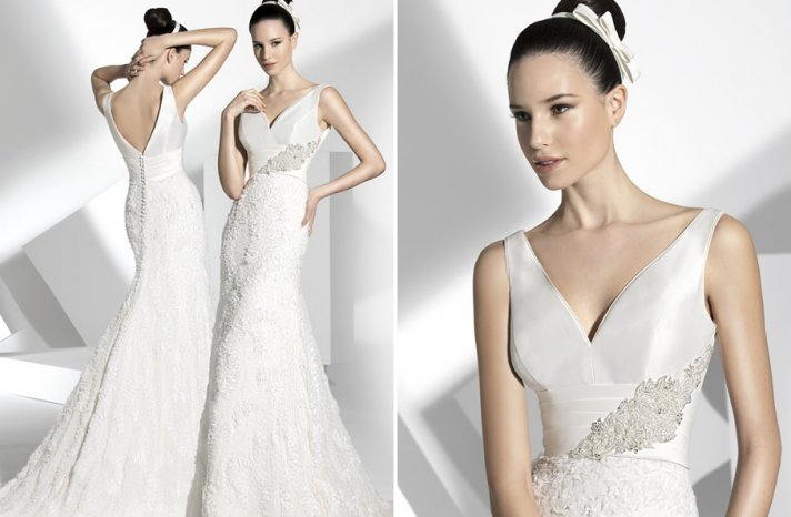 2013 wedding dress Franc Sarabia bridal gowns Spanish designers 3