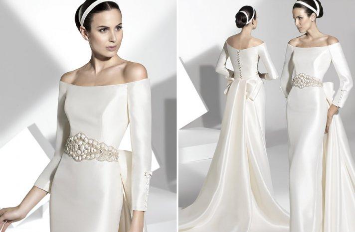 2013 wedding dress Franc Sarabia bridal gowns Spanish designers 8