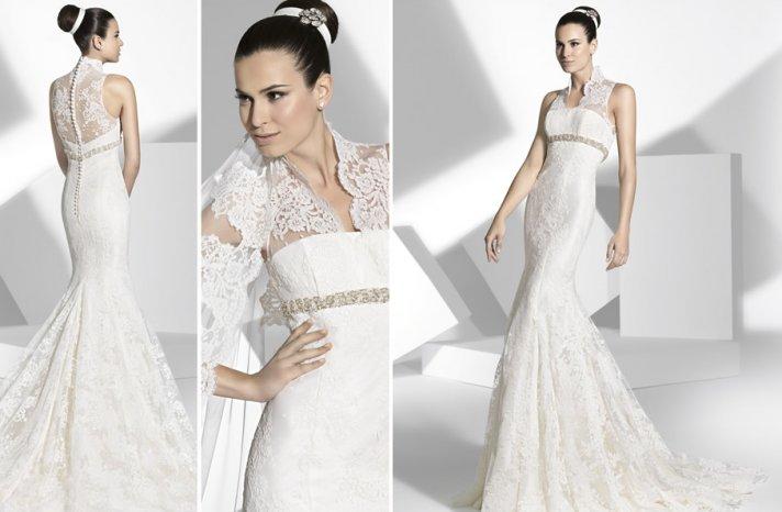 2013 wedding dress Franc Sarabia bridal gowns Spanish designers 14